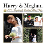 Harry and Meghan - 2019 Calendar Kalendrar