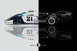 1971 Porsche 917 Martini Rossi III Poster von  NaxArt