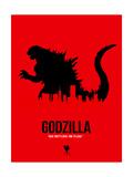 Godzilla Poster von  NaxArt