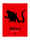 Godzilla Prints by  NaxArt