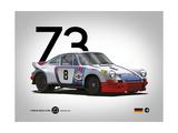 1973 Porsche Targa Florio Kunst von  NaxArt