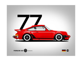 1977 Porsche 930 Poster von  NaxArt
