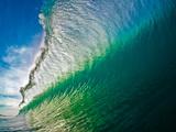 Breaking ocean wave, Baja California Sur, Mexico Fotografie-Druck von Mark A Johnson
