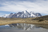 Reflection of Mountains at Torres Del Paine National Park Photographic Print by Jeff Mauritzen