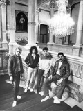 Queen in Vienna Photo by  Associated Newspapers