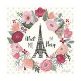 Paris is Blooming V Pôsters por Laura Marshall