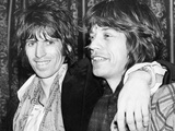 Keith Richards and Mick Jagger Celebrate Foto von  Associated Newspapers