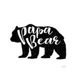 Papa Bear Poster por Laura Marshall