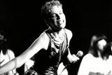 Annie Lennox on Stage Foto von  Associated Newspapers
