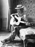 Mick Jagger in Vienna Foto von  Associated Newspapers