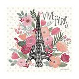 Paris is Blooming III Posters por Laura Marshall