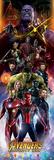 Avengers: Infinity War - Characters Kunstdrucke