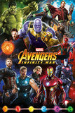 Avengers: Infinity War - Characters Plakater