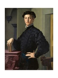 Portrait of a Young Man Plakater af Agnolo Bronzino