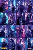 Avengers: Infinity War - Heroes Affischer