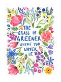 Greener Grass Giclée-Druck von Elizabeth Rider