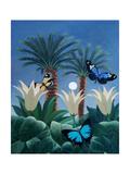 Flutter in the Jungle Giclée-Druck von ELEANOR FEIN