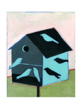 Birdhouse for Swallows Impressão giclée por Megan Moore