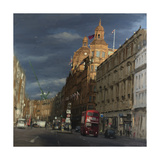 Sunbeam on Harrods, 2018 Giclee Print by Tom Hughes