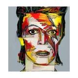 Picasso Reimagined - David Bowie 2 Gicléedruk van Mark Gordon