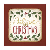 Believe in Christmas Premium Giclee Print by Cindy Shamp