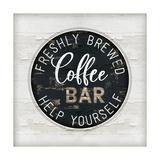 Coffee Bar Premium Giclee Print by Jennifer Pugh