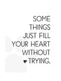 Fill Your Heart Premium Giclee Print by Jennifer Pugh