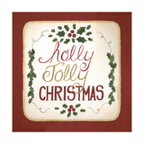 Holly Jolly Christmas Premium Giclee Print by Cindy Shamp