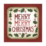Merry Merry Christmas Premium Giclee Print by Cindy Shamp