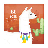 Be You Llama Kunstdrucke von Jennifer Pugh