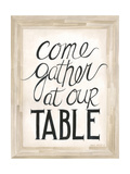 Our Table Premium Giclee Print by Cindy Shamp