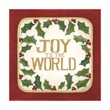 Joy to the World Premium Giclee Print by Cindy Shamp