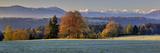 Germany, Bavaria, View at the Karwendelgebirge Impressão fotográfica por Bernd Rommelt