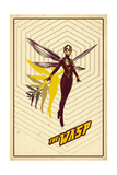 Ant-Man and the Wasp - Retro Wasp Schilderijen
