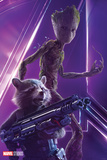Avengers: Infinity War - Rocket and Groot Posters
