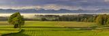 Germany, Bavaria, Faistenberg, View at Benediktenwand, Jochberg, Bavarian Alpine Foothills Impressão fotográfica por Bernd Rommelt