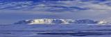 Iceland, Iceland, North-East, Winter Scenery with Holasandur, Lambafjöll, Federal Highway 87 to Hus Impressão fotográfica por Bernd Rommelt