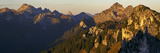 Germany, Bavaria, Bavarian Alps, Ammergauer Alps, Teufelstättkopf, View of  Impressão fotográfica por Bernd Rommelt