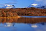Europe, Sweden,  Abisko National Park, View at Lapporten Impressão fotográfica por Bernd Rommelt