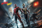 Ant-Man and the Wasp - The Tiny Titans Kunstdruck