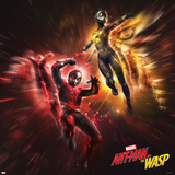 Ant-Man and the Wasp - Ant-Man and the Wasp in Flight Prints