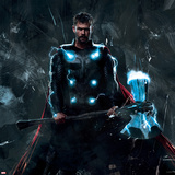 Avengers: Infinity War - Thor and Stormbreaker Poster