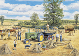 A Family Harvest Giclee Print by Trevor Mitchell
