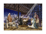 Natividad Lámina giclée por  The Macneil Studio