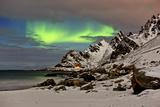 Norway Northern Lights, Aurora Borealis Impressão fotográfica por Bernd Rommelt