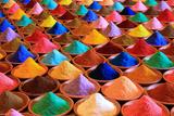 Multicolored Powder Dyes Fotografie-Druck von  nvphoto