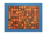 CORPUSCULAR MOVEMENT. 2017 Impressão giclée por Peter McClure