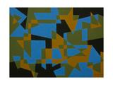 STRAIGHT LINE REBOUND. 2017 Impressão giclée por Peter McClure
