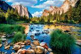 Yosemite nasjonalpark Plakat