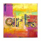 ART Acrylic on Canvas Reproduction procédé giclée par Ben Bonart